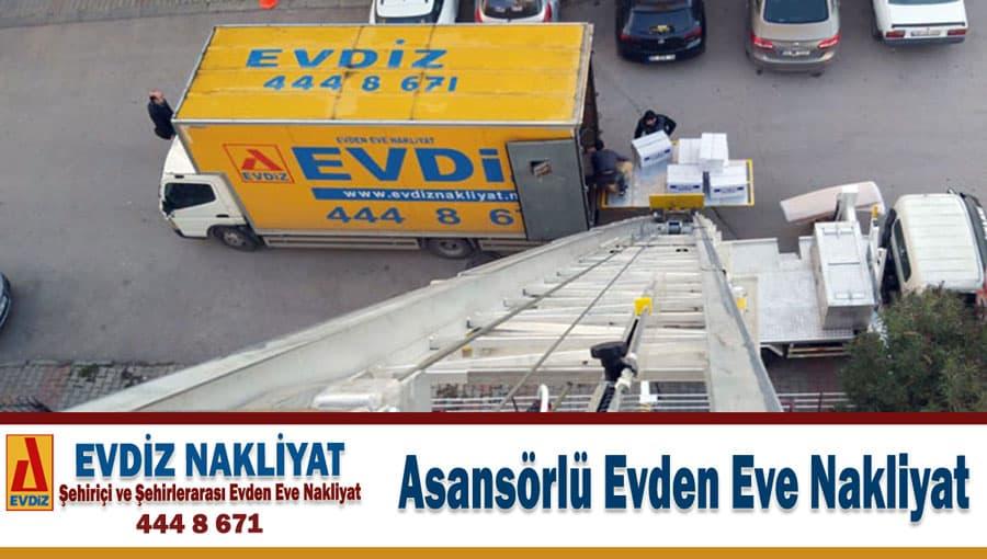 Asansörlü evden eve nakliyat İstanbul asansörlü nakliyat kiralama firması