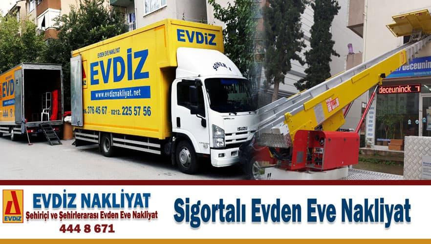 Sigortalı evden eve nakliyat İstanbul sigortalı nakliyat firması